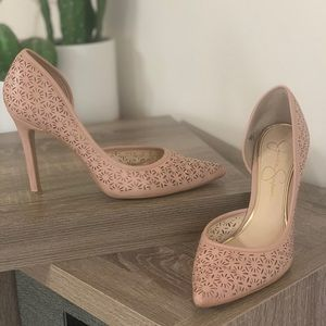 Pointed toe heels by Jessica Simpson